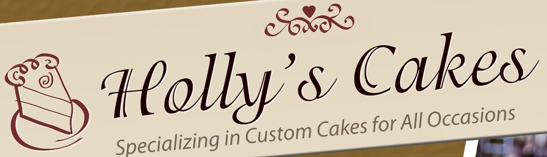 Holly's Cake, anderson wedding cake vendor